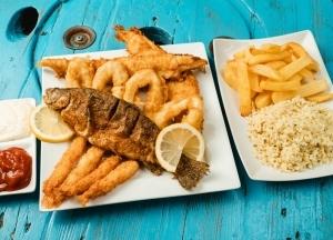 Mr. Fish Big Tál Menü