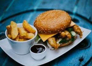 Halas burger menü