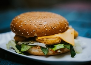 Csirkés Burger