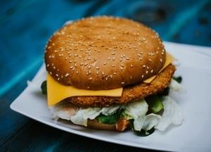 Vegetáriánus burger