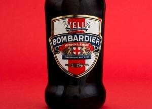 Wells Bombardier-angol félbarna sör 0,5L
